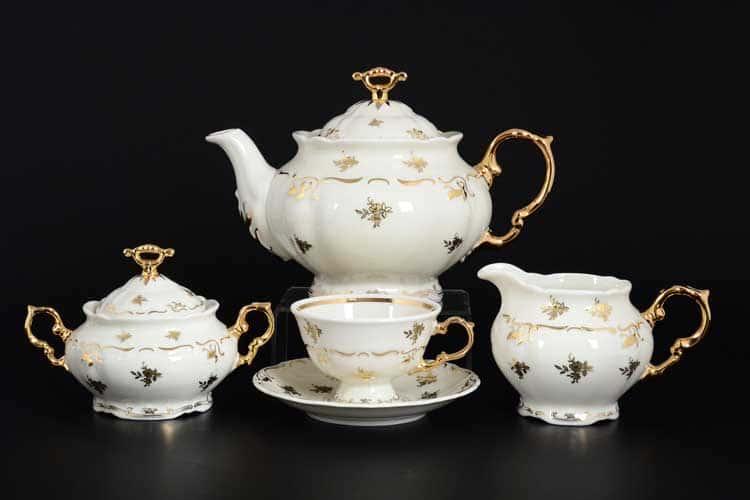 Мария Луиза IVORY 8804810 Чайный сервиз Тхун на 6 персон 17 предметов