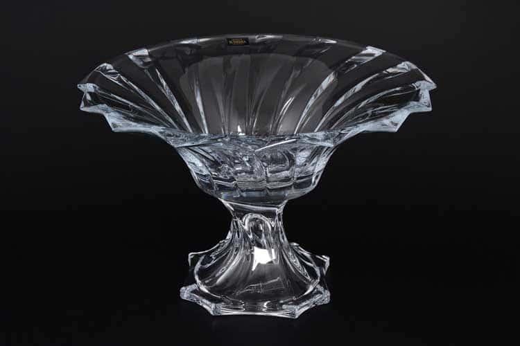 PICADELLI R-G Фруктовница на ножке Crystalite 30 см