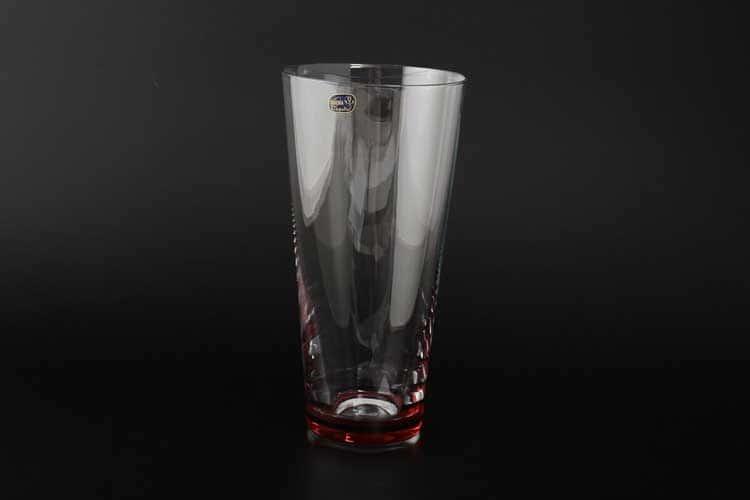 Кристалекс Ваза для цветов Bohemia Crystal 25 см красная