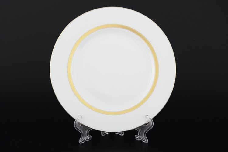 Корона Goldie Набор тарелок фарфоровых 18 см QC (6 шт)