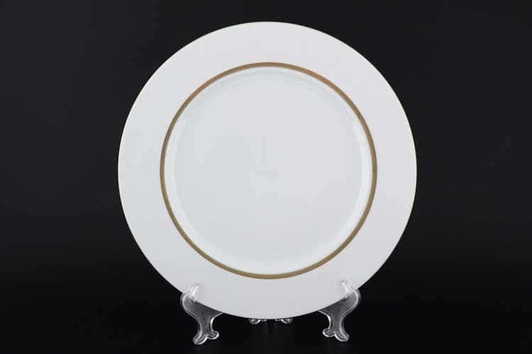 Корона Goldie Блюдо круглое из фарфора QC 32 см