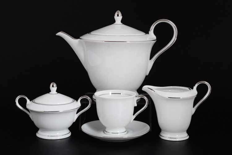 Корона Silverado Чайный сервиз QC на 6 персон 17 предметов