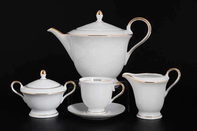 Корона Goldierado Чайный сервиз QC на 6 персон 17 предметов