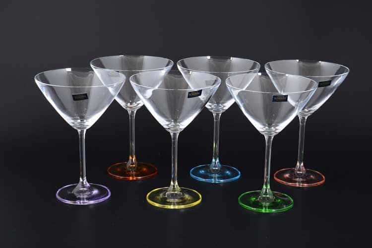 GASTRO Арлекино Набор бокалов для мартини  Crystalite 280 мл (6 шт)
