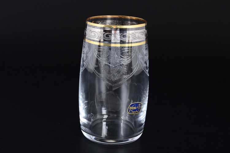 Идеал V-D Набор стаканов для воды Bohemia Crystal 380 мл (6 шт)