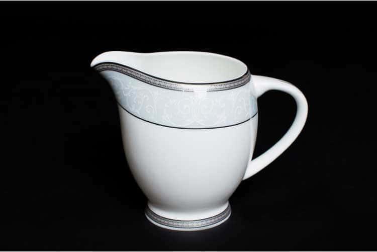 Узор Молочник 10 см из костяного фарфора Rulanda