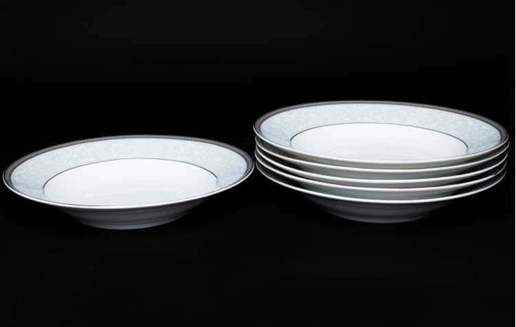 Узор Набор тарелок Руланда 6 шт. 23 см (суп)