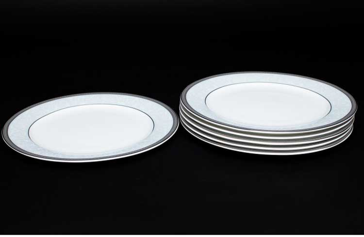Узор Набор тарелок 6 шт. 20 см Rulanda