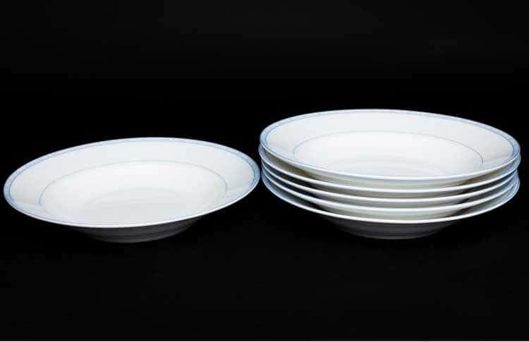 Утренний Набор тарелок Руланда 6 шт. 23 см (суп)