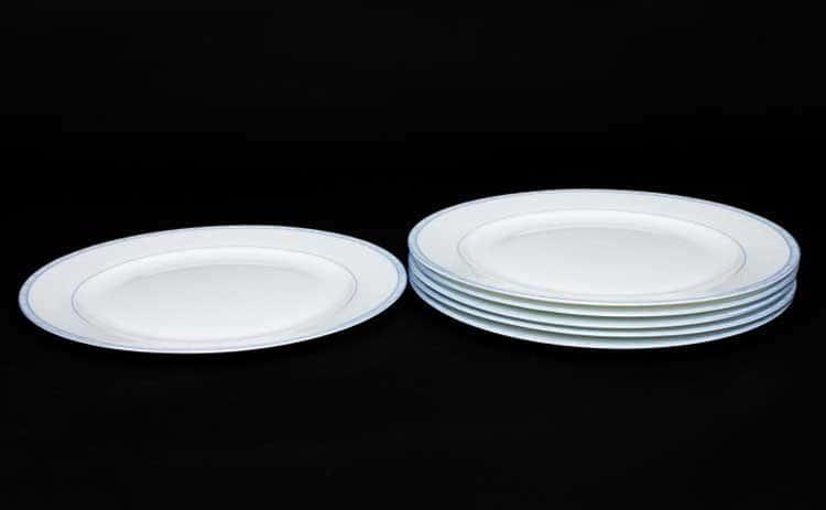 Утренний Набор тарелок Rulanda 6 шт. 25 см