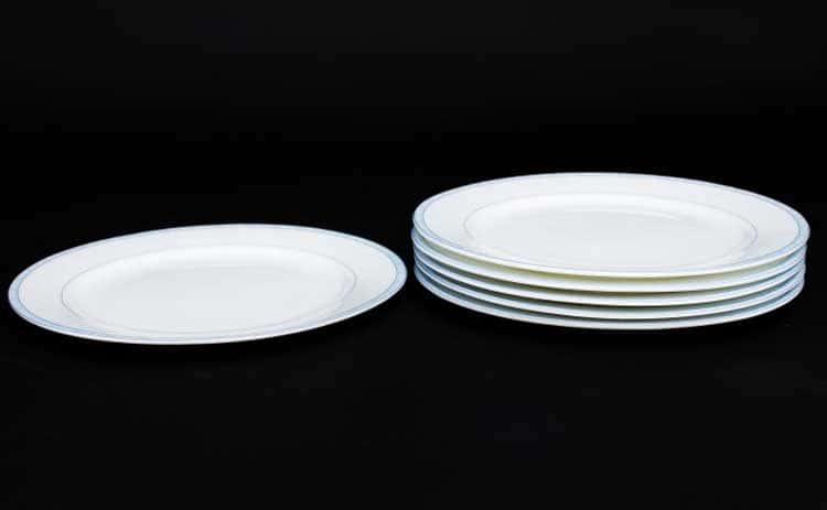 Утренний Набор тарелок 6 шт. 20 см Rulanda