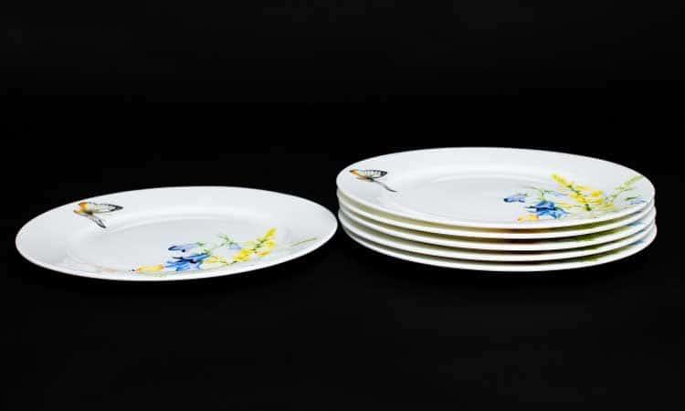 Дейзи Бабочки Набор тарелок Rulanda 6 шт. 25 см