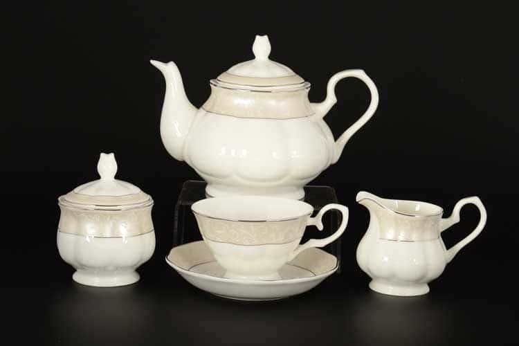Антуанетта Чайный сервиз Royal Classics на 6 персон 17 предметов