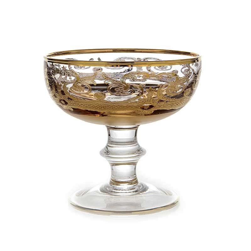 Тимон золото Набор креманок для мартини на 6 перс.