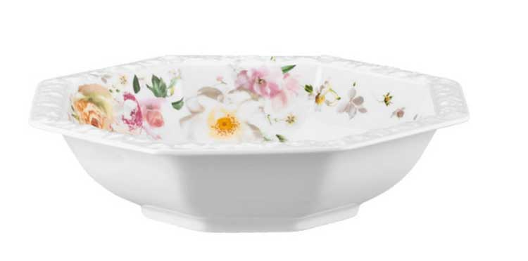 Пинк Розе Салатница круглая Rosenthal 21 см. 1 шт.