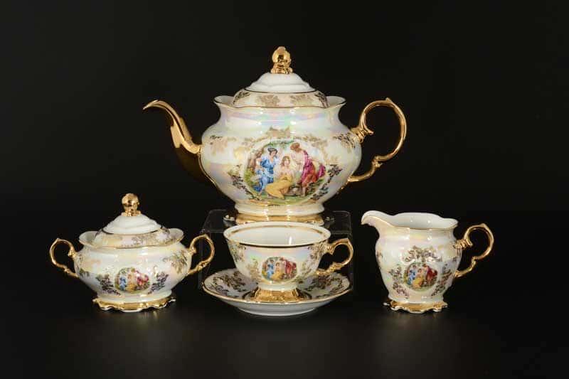 Фредерика Мадонна Чайный сервиз на 6 персон 17 предметов Roman Lidicky