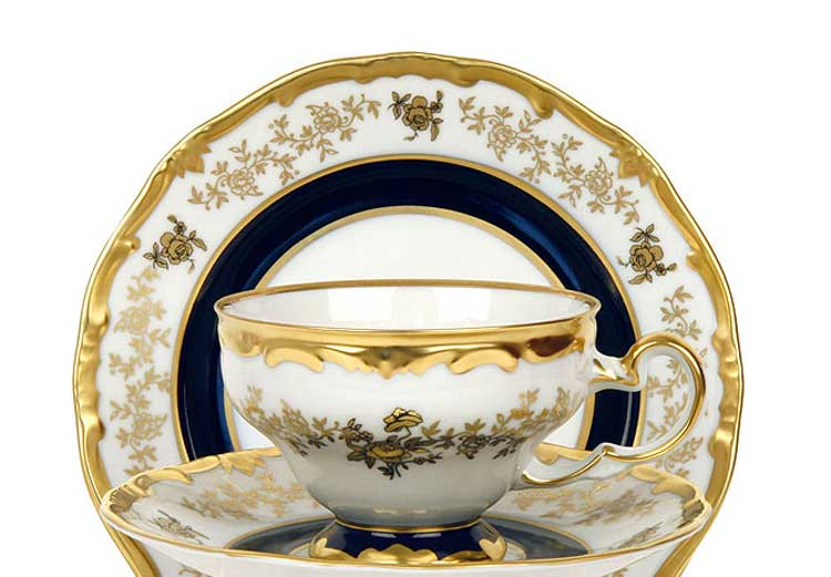 Анна Амалия Набор чайный подарочный 210 мл. на 6 перс. 12 пред. Weimar Porzellan