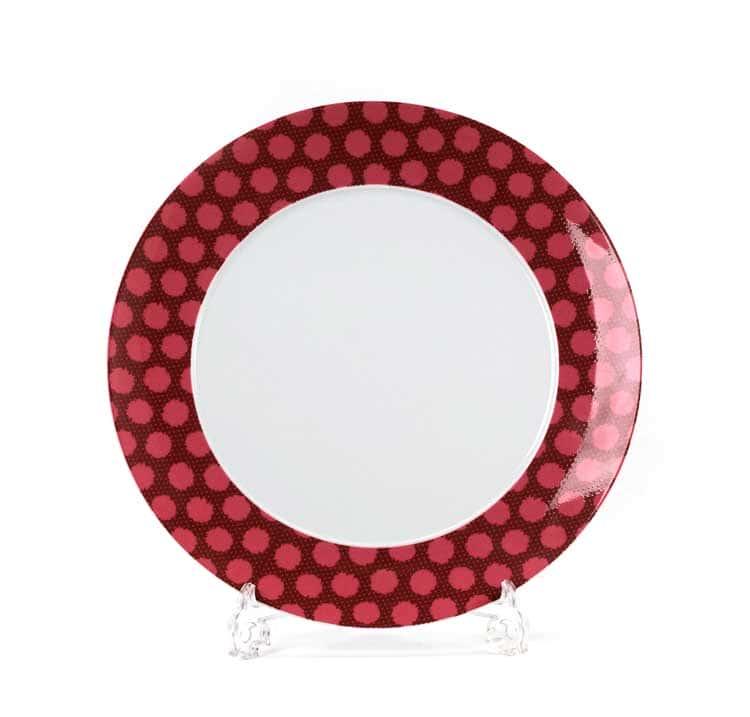 Малина Блюдо круглое Tunisie 31 см