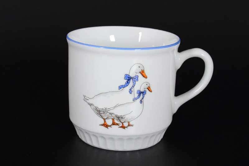 Лео Гуси Кружка для чая из фарфора Nela Time