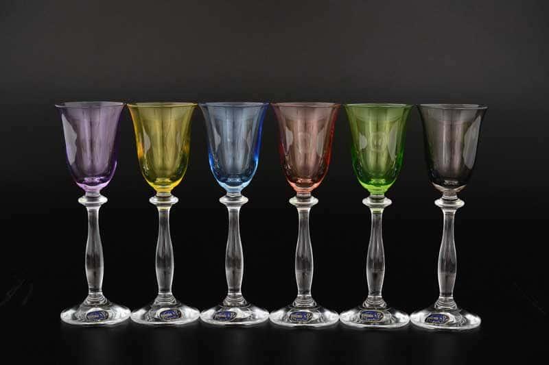40600D4651 Набор рюмок для водки Bohemia Crystal 60 мл (6 шт)