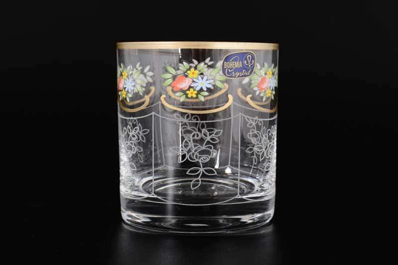 Виктория Кристалекс 935 Набор стаканов для виски 280 мл Bohemia Crystal (6 шт)