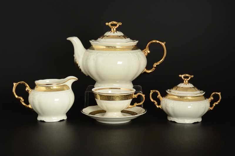 Мария Луиза IVORY Чайный сервиз Thun на 6 персон 17 предметов