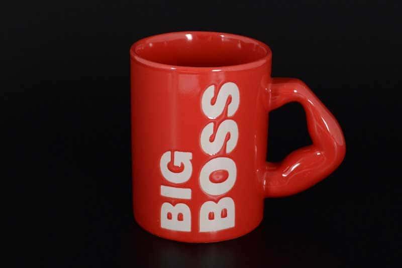 Big Boss Кружка для чая Laurus красная