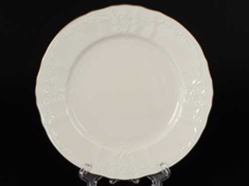Бернадотт Белый узор BE-IVORY Набор тарелок 17 см (6 шт)