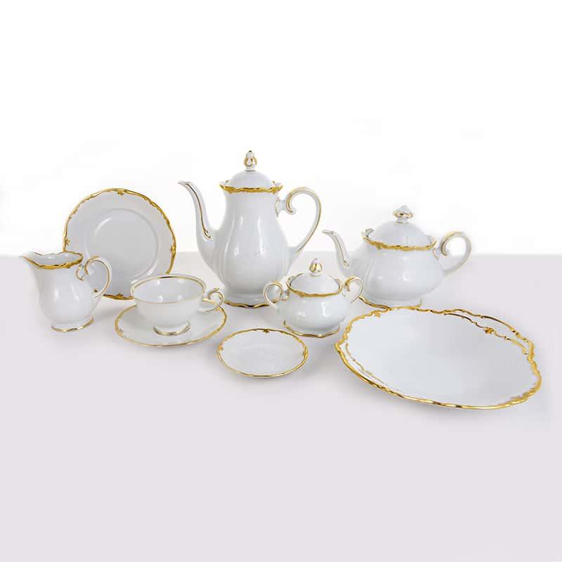 Барокко белый Сервиз чайный Reichenbach на 6 перс.29 предм.