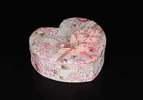 Сердце Шкатулка из фарфора Royal Classics Китай