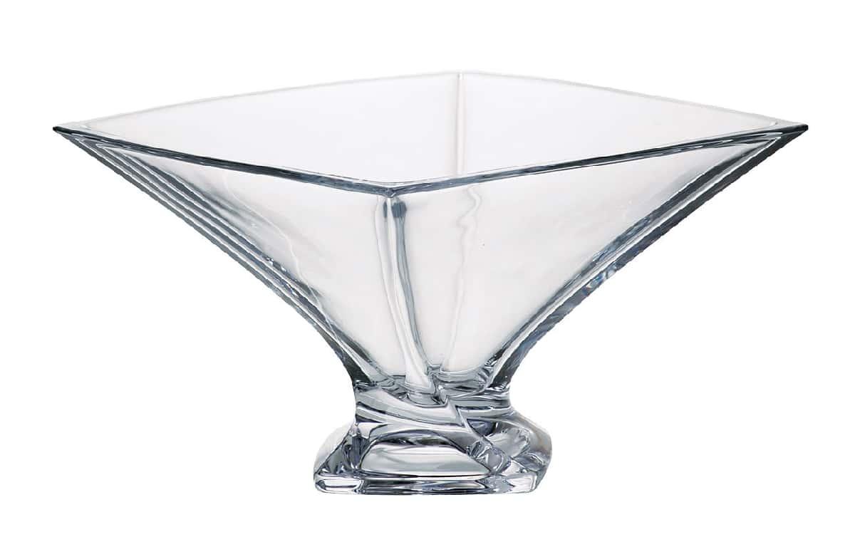 Квадро Ваза для фруктов Crystalite 32,5 см 09333