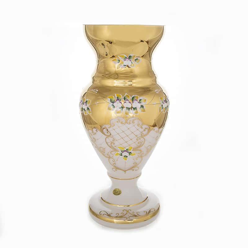 Лепка белая 83219 Ваза для цветов U. Glass 43 см