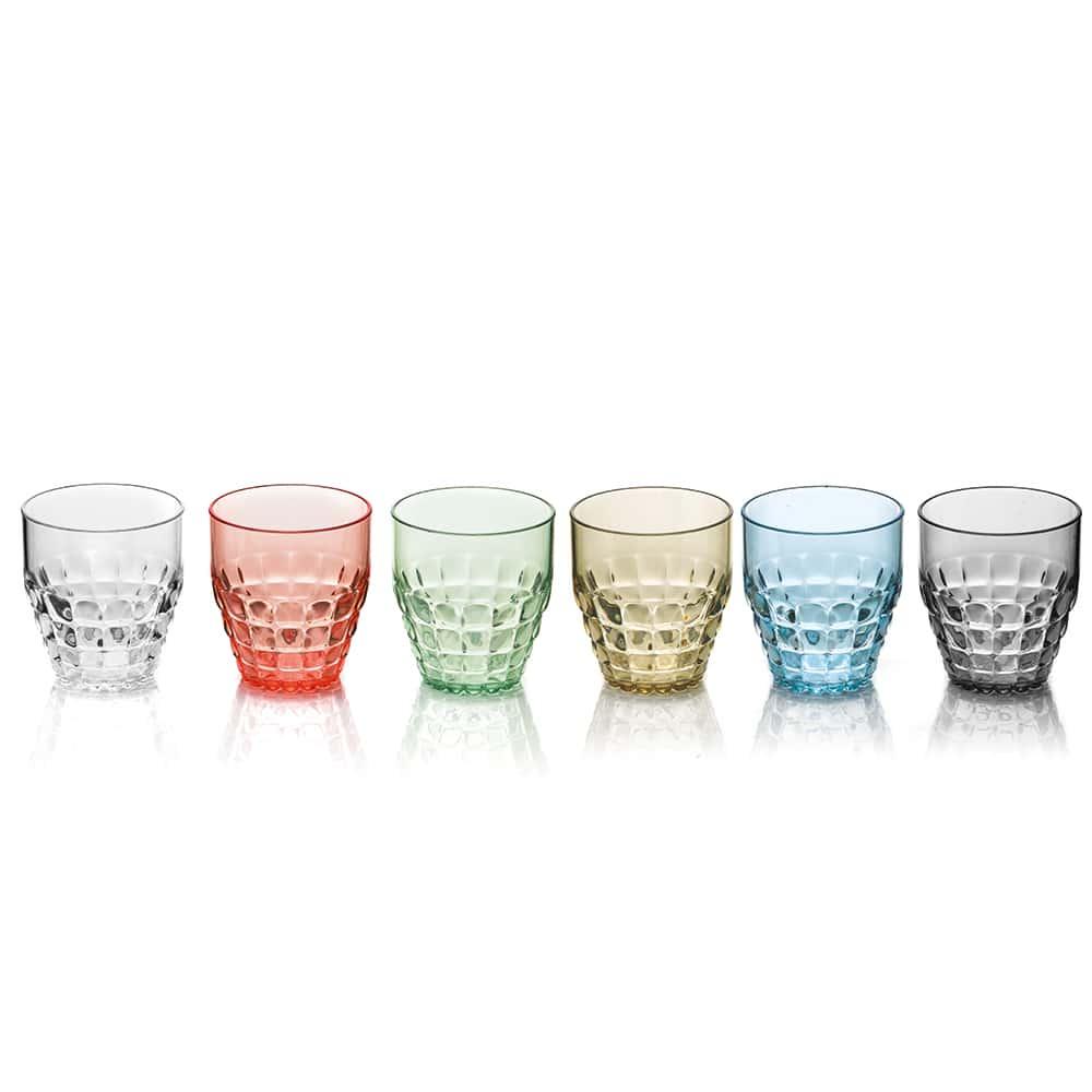 Тиффани Набор стаканов для виски Guzzini 350 мл.6 шт.