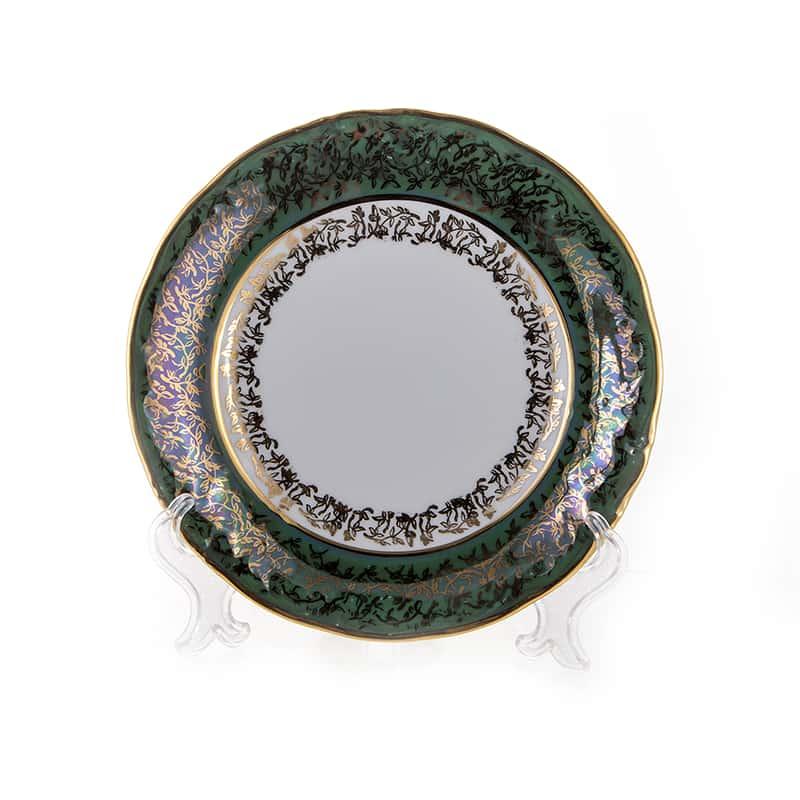 Лист зеленый Набор тарелок Carlsbad 19 см 6 шт.