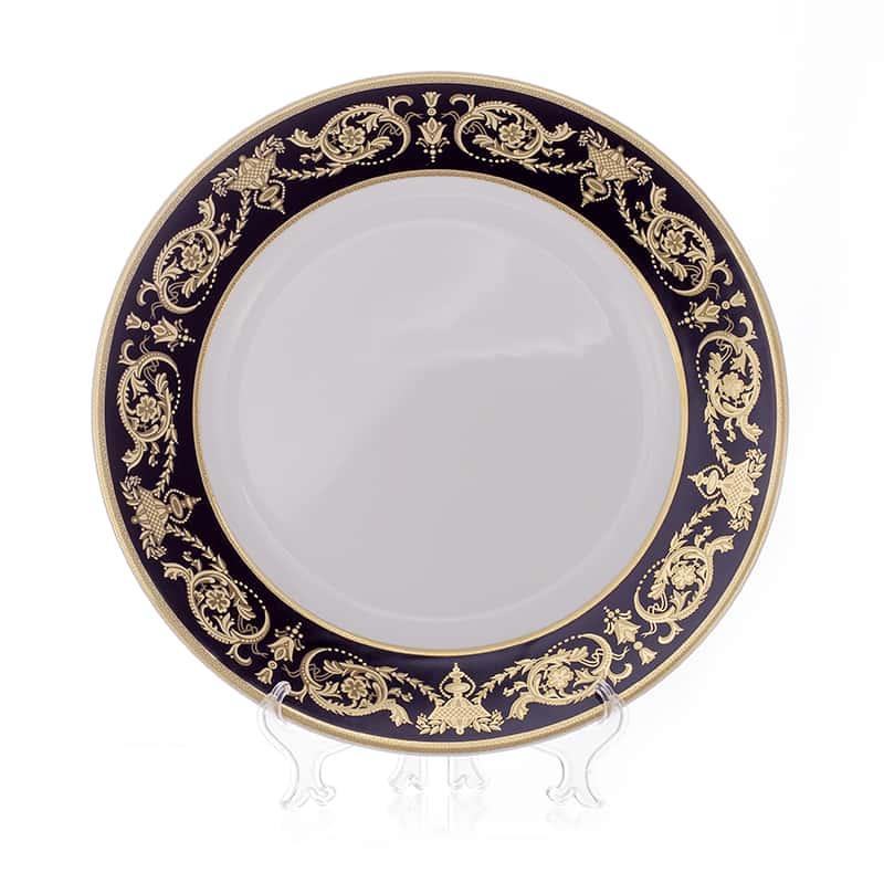 Александрия Блэк/зол. Блюдо круглое Bavarian 32 см.