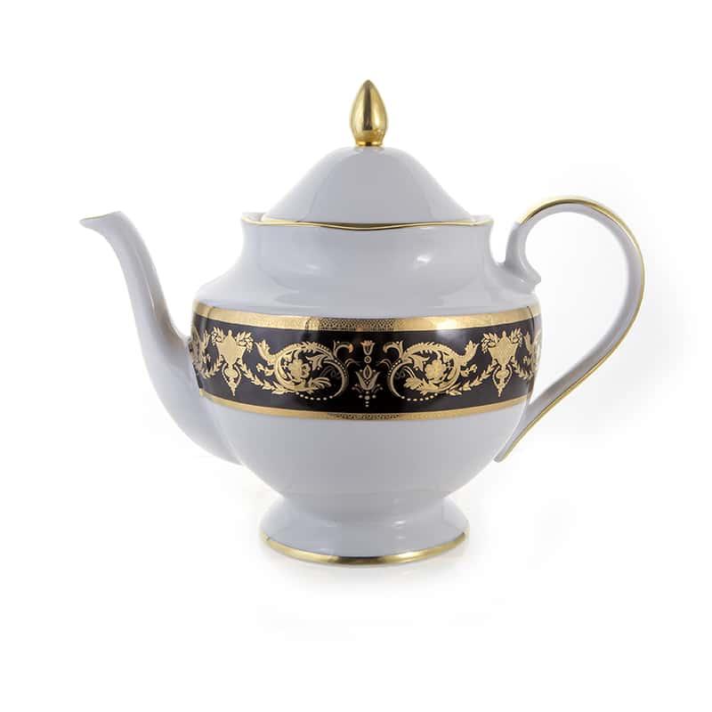 Александрия Блэк/зол. Чайник 1 л Bavarian