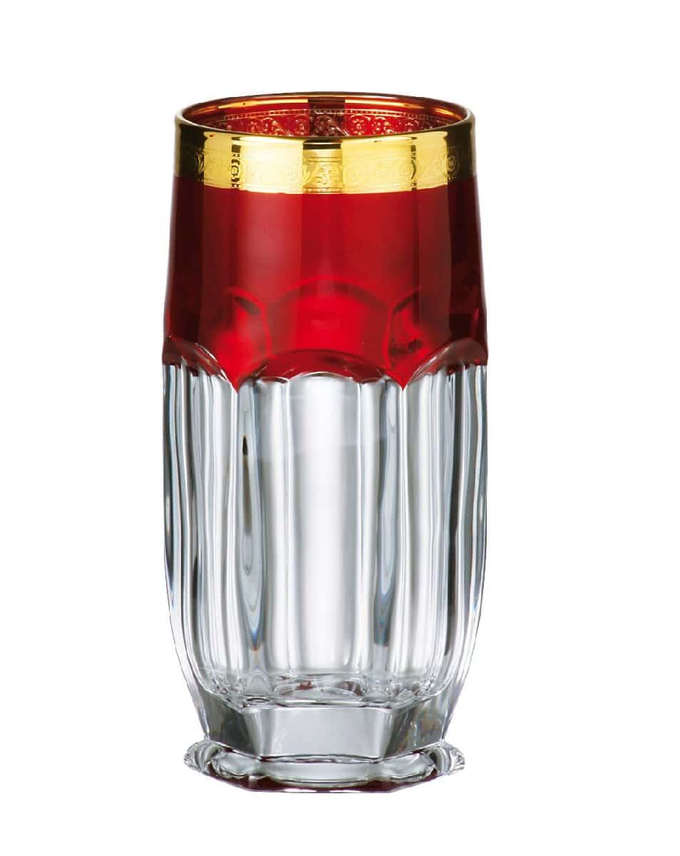 Сафари Рубин Набор стаканов для воды 300 мл Crystalite 16378
