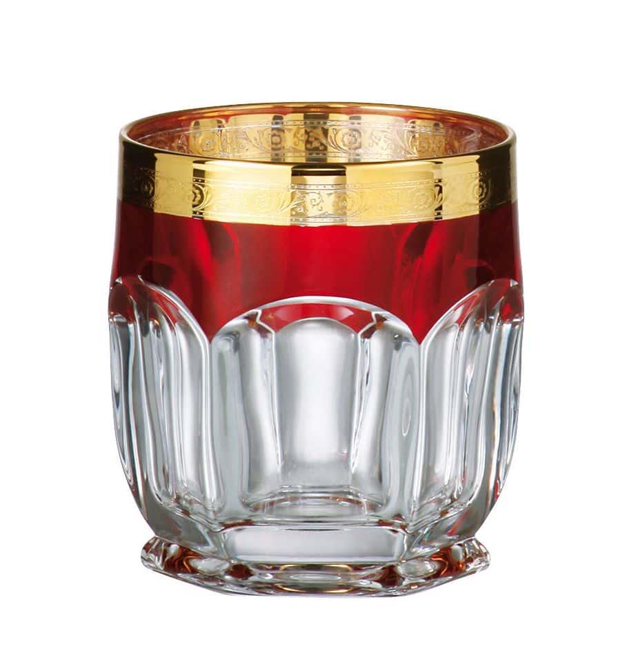 Сафари Рубин Набор стаканов для виски 250 мл Crystalite 15953