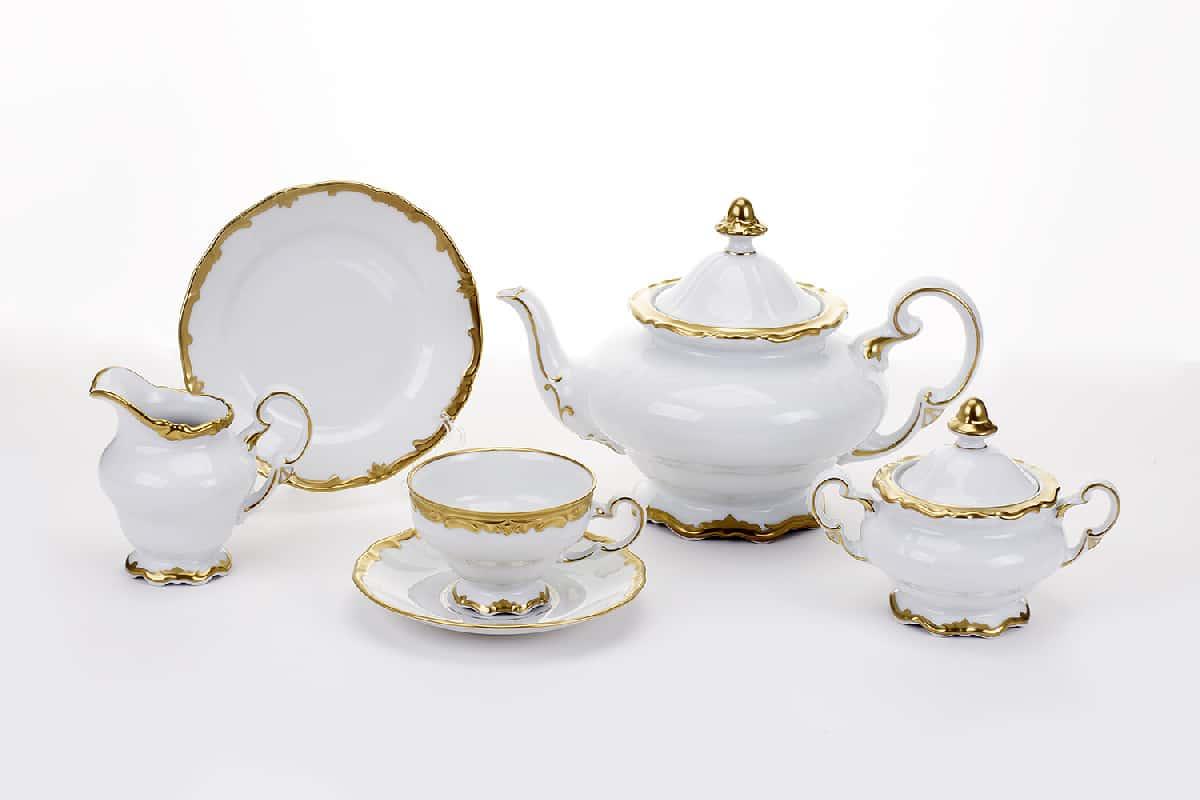Престиж Сервиз чайный Weimar на 6 персон 21 предметов подарочный