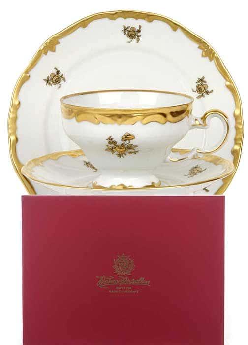 Роза золотая Набор для чая подарочный 12 пред. Weimar