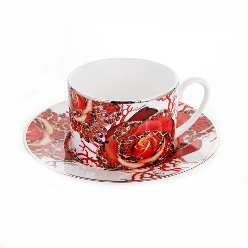 Роза Джевел Набор для чая 155 мл Roberto Cavalli