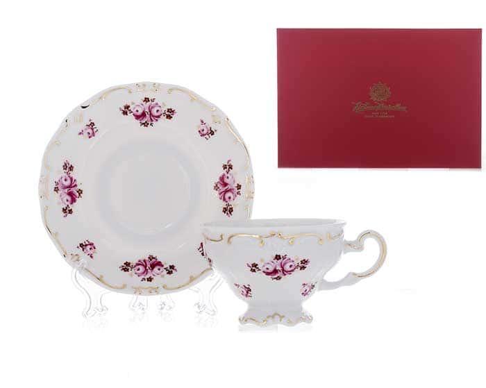 Роза Набор чайный подарочный 12 пред. Weimar