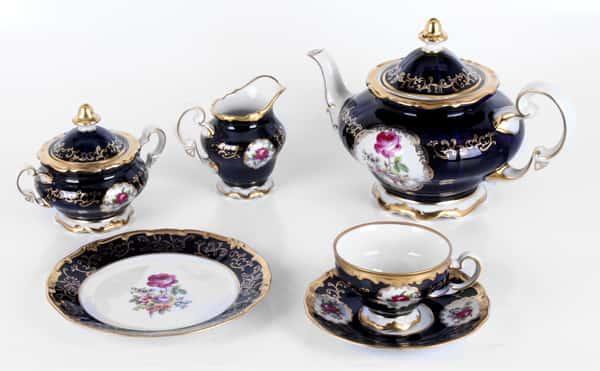 С. Петербург 866 Сервиз чайный Weimar на 6 перс. 21 пред.