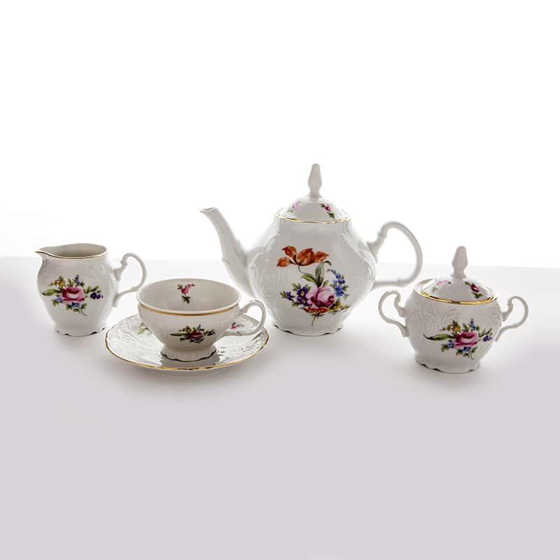 Полевой цветок 5309011 Чайный сервиз Bernadotte на 6 перс. 15 пред. 03762