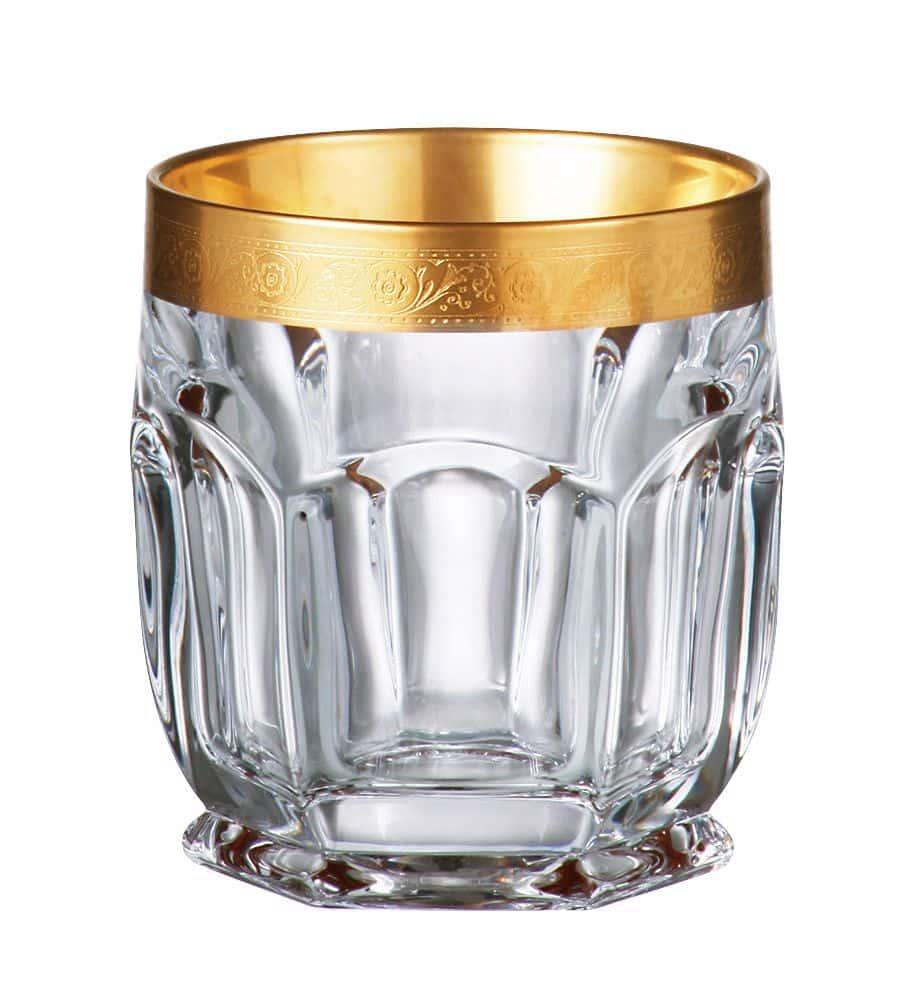 Cафари 430469 Набор стаканов для виски Crystalite Bohemia 250 мл (6 шт)