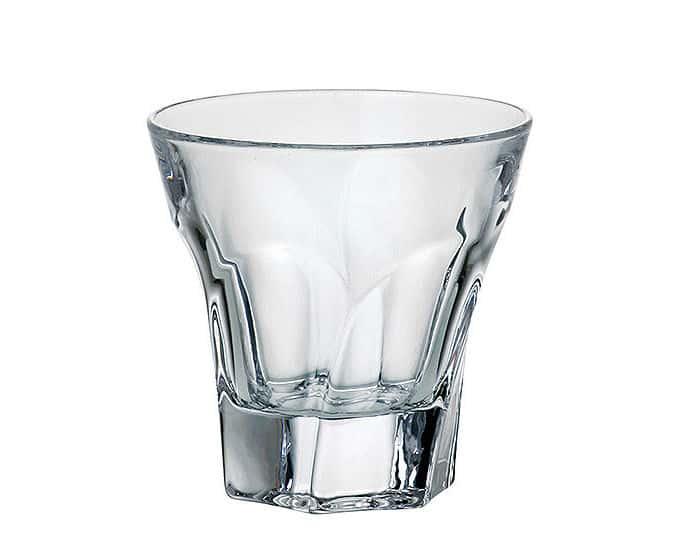 Аполло Прозрачная Набор стаканов для виски Crystalite Bohemia 230 мл (6 шт)