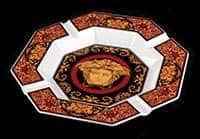 Блюдо Медуза красная 24 см Rosenthal Versace