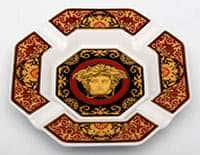 Блюдо Медуза красная 14 см Rosenthal Versace
