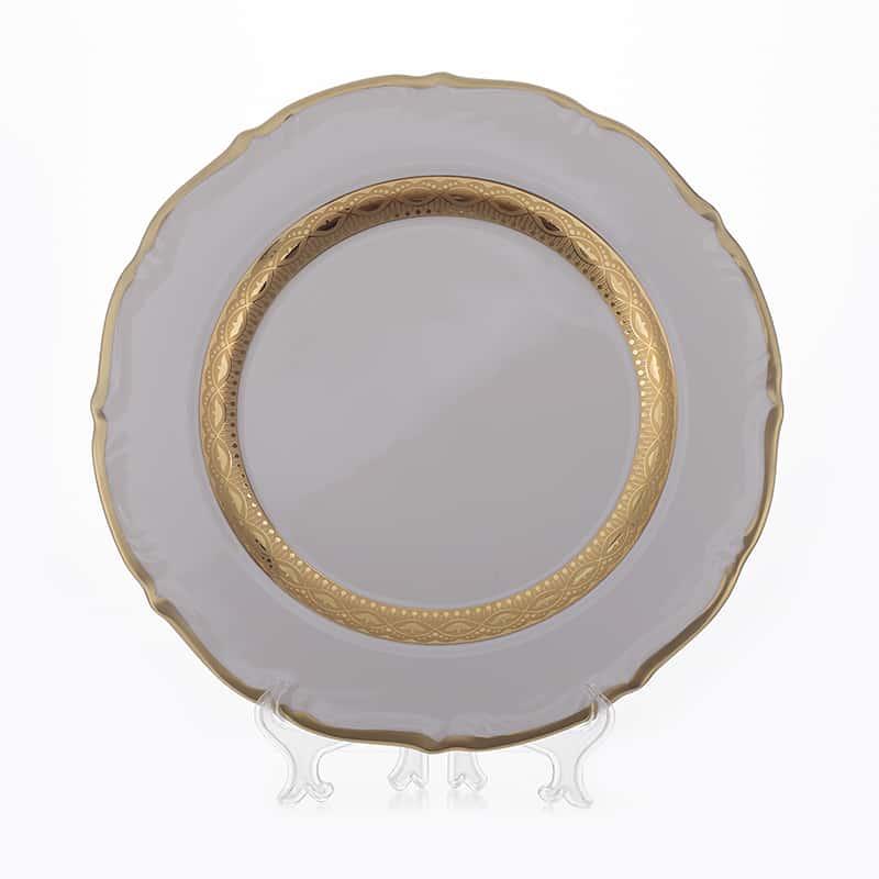 Лента золотая матовая 1 Блюдо круглое Bavarian 30 см