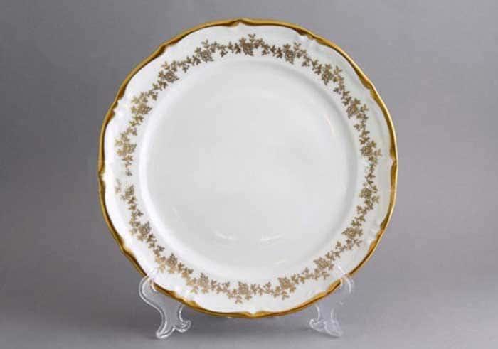 Барокко золото 202 Блюдо круглое Bavarian 30 см.
